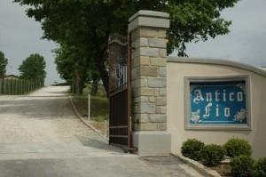 The gateway to Antico Fio